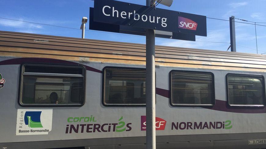 Attention, les horaires des Intercités entre Paris et Cherbourg peuvent changer ce week-end en raison de travaux sur la ligne