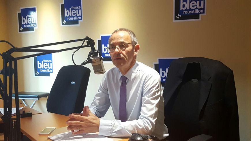 Michel Rouquette, l'inspecteur d'académie invité de France Bleu Roussillon ce mardi matin à 7h50