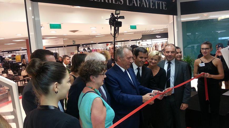 L'inauguration des Galeries Lafayette au centre Bosquet à Pau