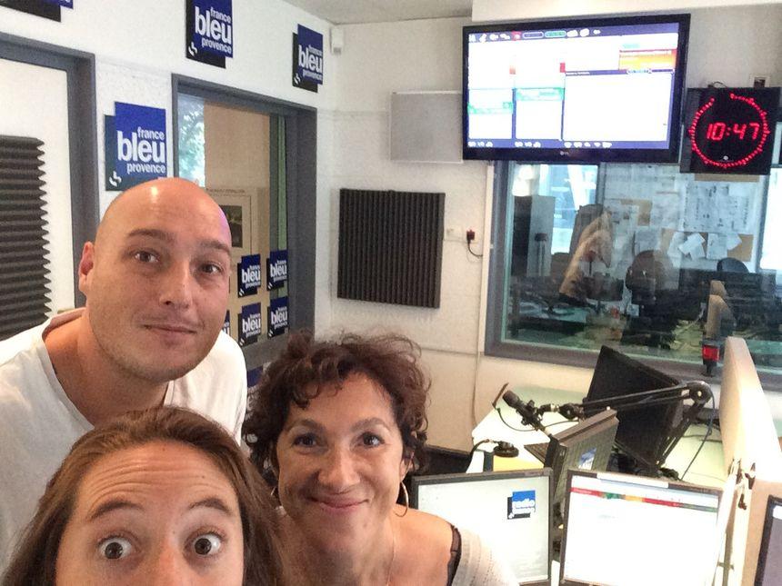 Nicolas Vie, Mélanie Masson, Isabelle Vassallo  - Radio France