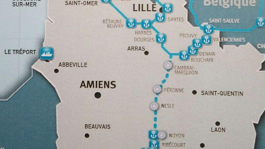 Les ports maritimes et fluviaux des Hauts-de-France
