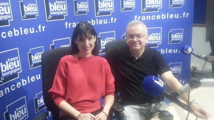 Eric Nicolier et Alexandra Leclere, les co-fondateurs de l'observatoire de la laïcité en Côte-d'Or