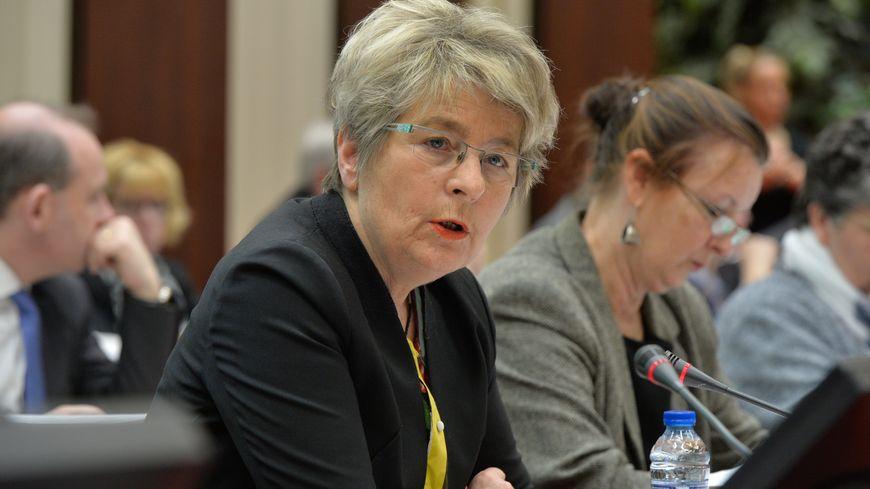 Marie-Guite Dufay, présidente de la région Bourgogne Franche-Comté