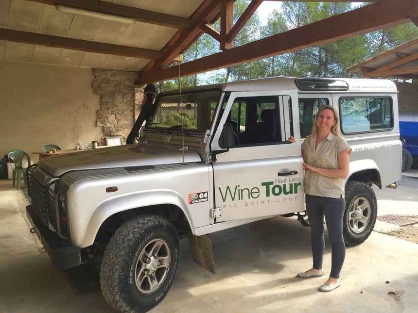 """""""Partez pour un tour commenté au cœur du vignoble du domaine, dans les vignes en terrasses à 300 mètres d'altitude"""" - Mireille Rambier - Radio France"""