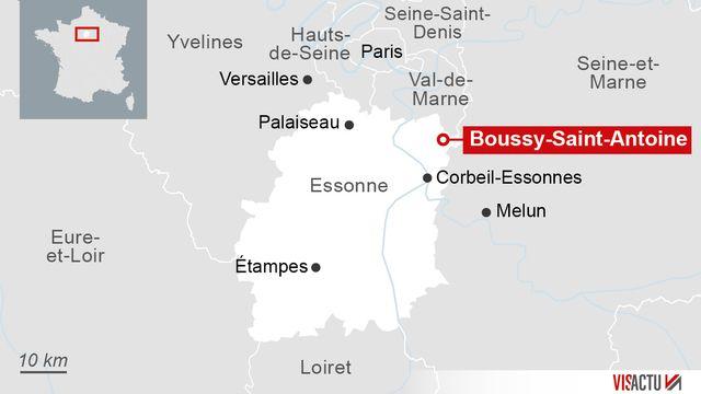Trois femmes arrêtées lors d'une opération anti-terroriste à Boussy-Saint-Antoine