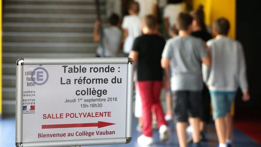 la réforme des collèges (illustration)