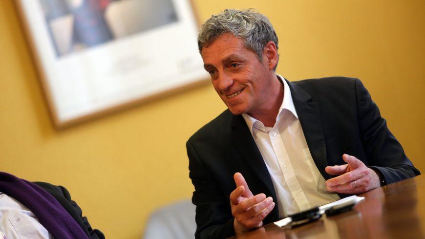 Philippe Saurel, le maire de Montpellier
