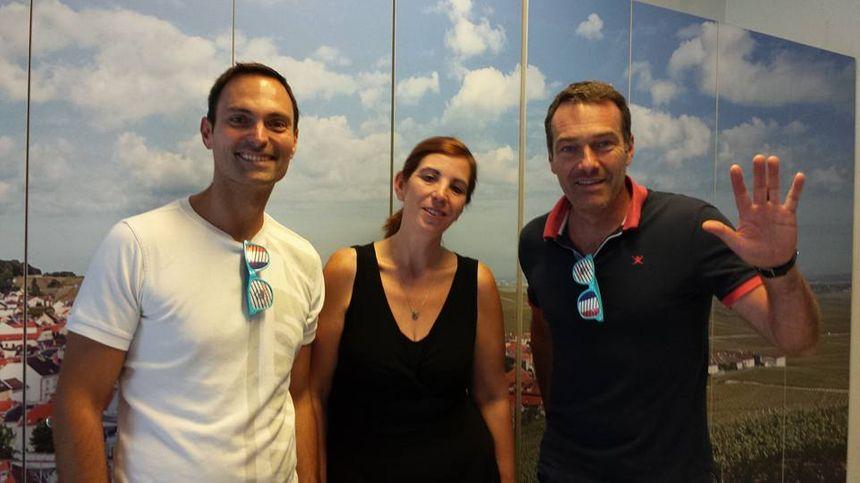 Olivier Cattiaux, Cristina Edmond Martins et Marc Emmanuel - Radio France
