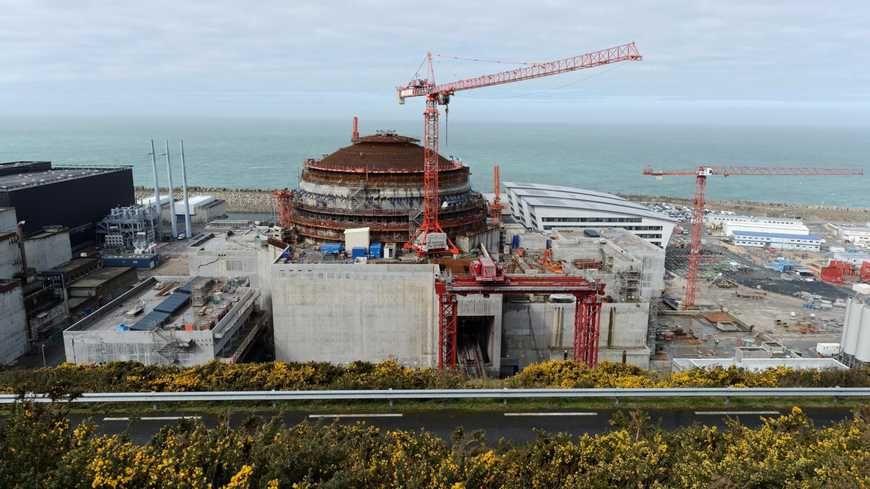 La construction de l'EPR à Flamanville