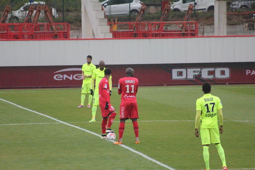 La dernière confrontation entre le DFCO et le FC Metz au stade Gaston Gérard avait tourné à l'avantage des grenats, vainqueurs 4 à 0 - Radio France