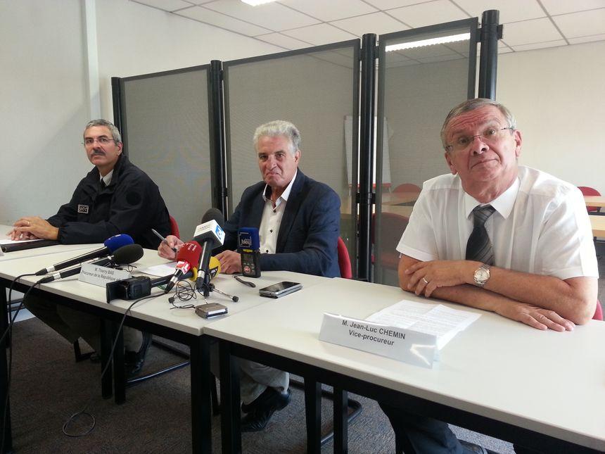 La conférence de presse avec le vice-procureur de la République de Dijon s'est tenue au palais de Justice - Radio France