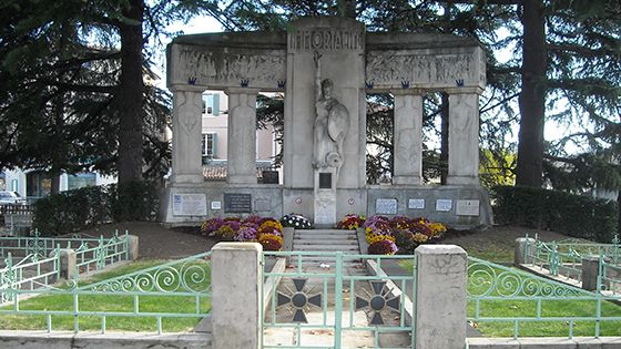 Le monument aux morts de Romans-sur-Isère