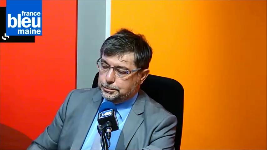 Jean-Marc Milville, directeur académique de la Sarthe