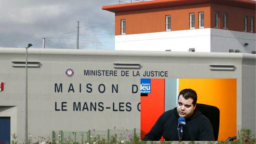 Vincent Le Dimeet est surveillant de prison à Coulaines et délégué national du syndicat FO pénitentiaire