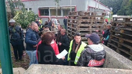 Action des salariés de Minerve