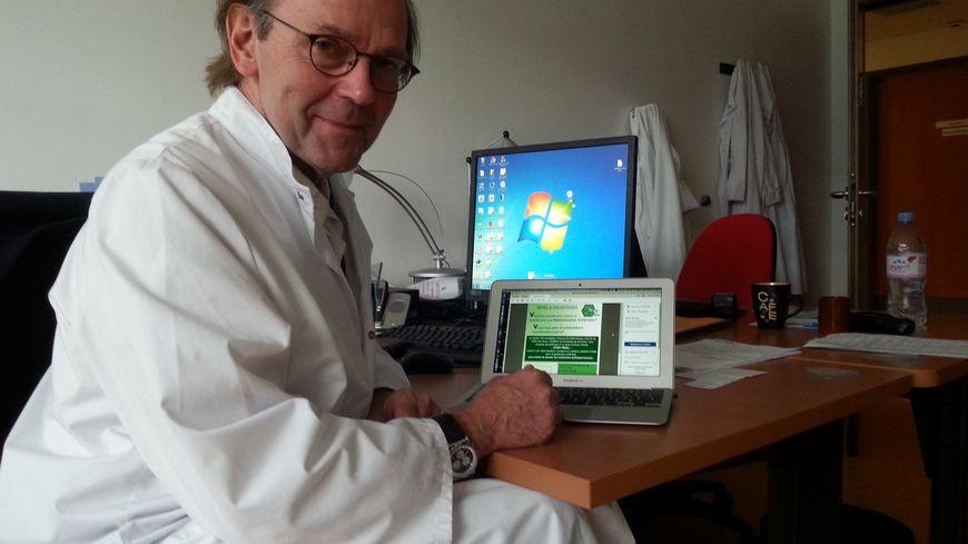 Le Pr Jean-Marc Boivin, au Centre d'investigation clinique du CHRU Nancy-Brabois