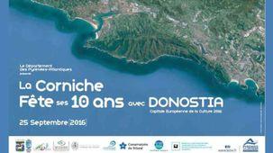 Affiche fête de la Corniche à Hendaye