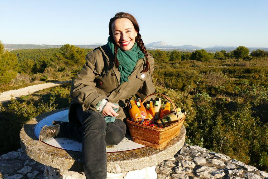 Clarisse en plein coeur de sa Provence.  - Radio France