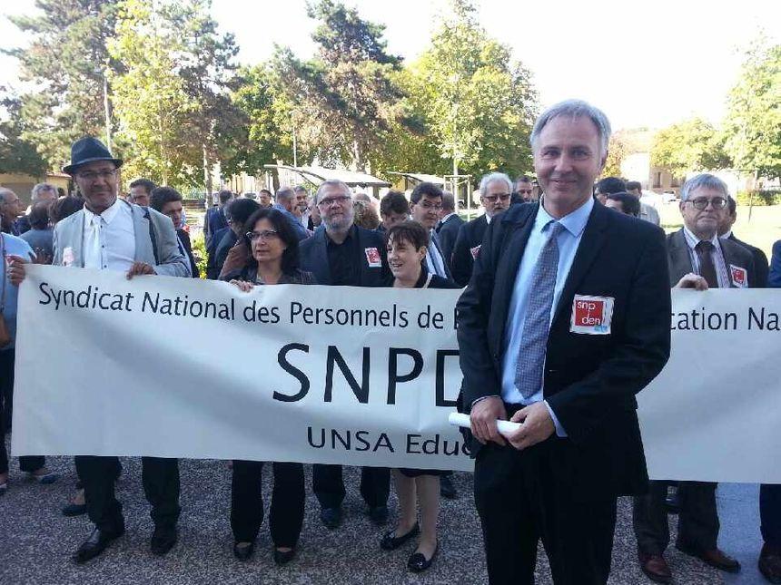Emmanuel Masson secrétaire académique du SPDEN-UNSA  - Radio France