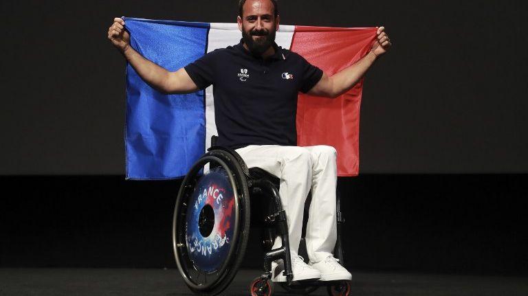 Michaël Jeremiasz, le porte-drapeau de la délégation française