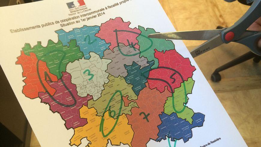 La Creuse va passer de 15 à 7 intercommunalités au 1er janvier 2017