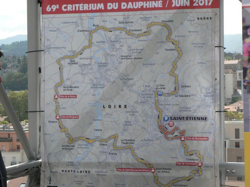 le parcours de l'étape du dimanche 4 juin 2017  - Radio France