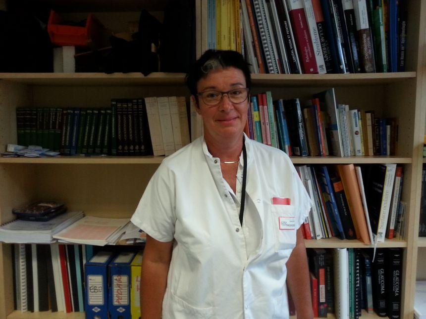 Le Pr Catherine Creuzot-Garcher est la responsable de l'UCA au CHU de Dijon - Radio France
