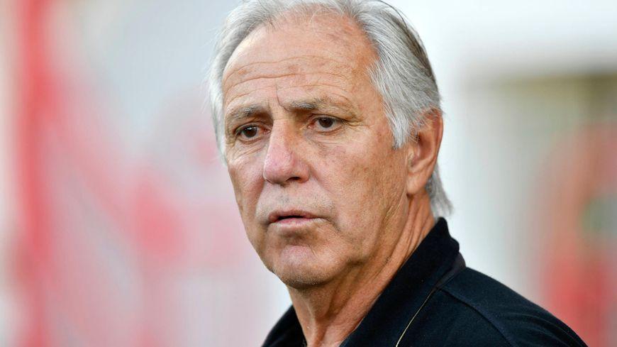 L'entraîneur nantais René Girard