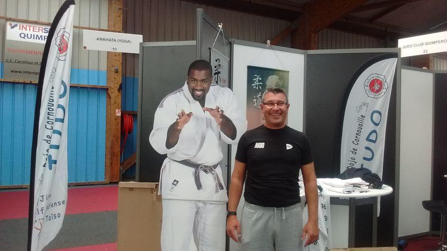 Un allié de poids (et en carton) pour le Judo club quimpérois