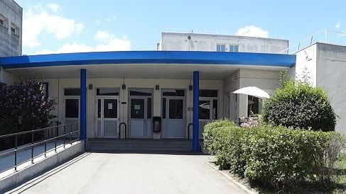 L'entrée du collège Edouard Vaillant à Saint-Martin-d'Hères.