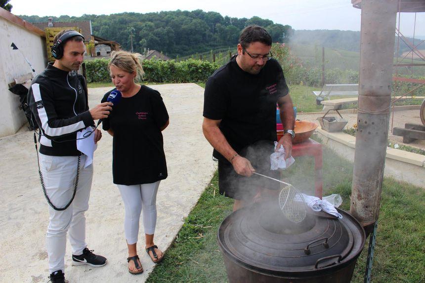 Potée champenoise de Carine et Vincent Gobert, table d'hôtes à Romery (Marne) - Radio France
