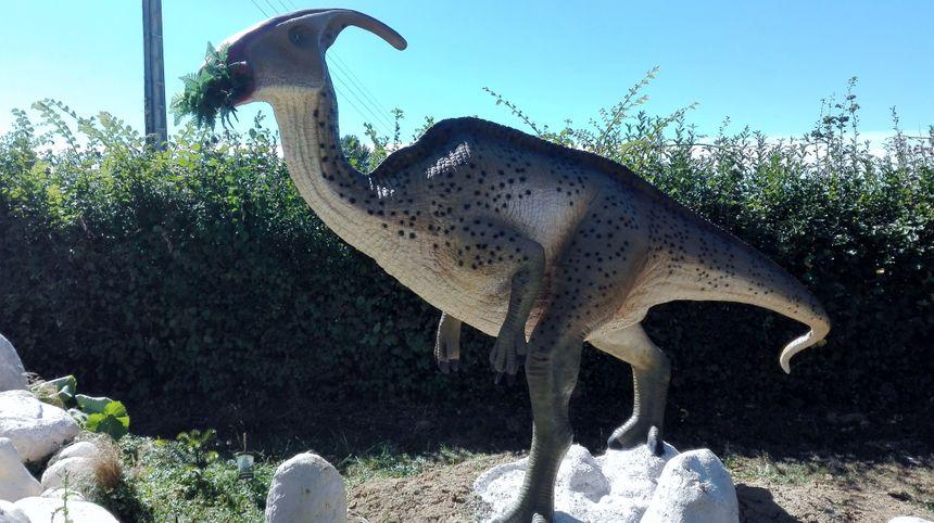 Le parasaurolophus est le seul dinosaure dont les chercheurs ont pu recréer le cri. - Radio France