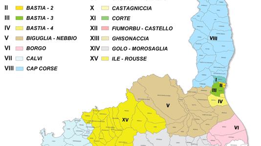 Cinq binômes en lice pour la cantonale de Bastia III