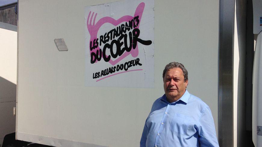 Pierre Loas est le nouveau président élu des Restos du cœur en Dordogne.