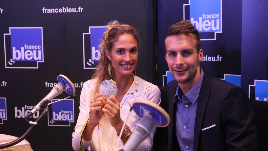Elodie Clouvel et son compagnon Valentin Belaud
