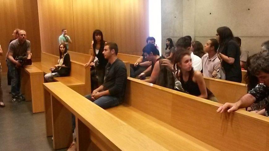Martin Pontier à l'audience du tribunal correctionnel de Saint-Étienne