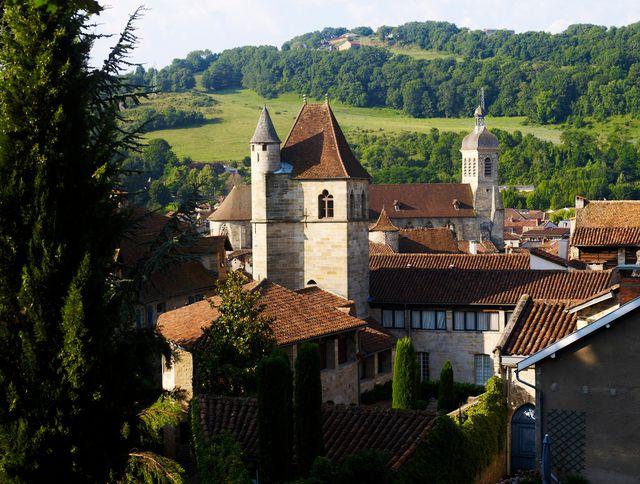 Vue depuis les terrasses du Puy