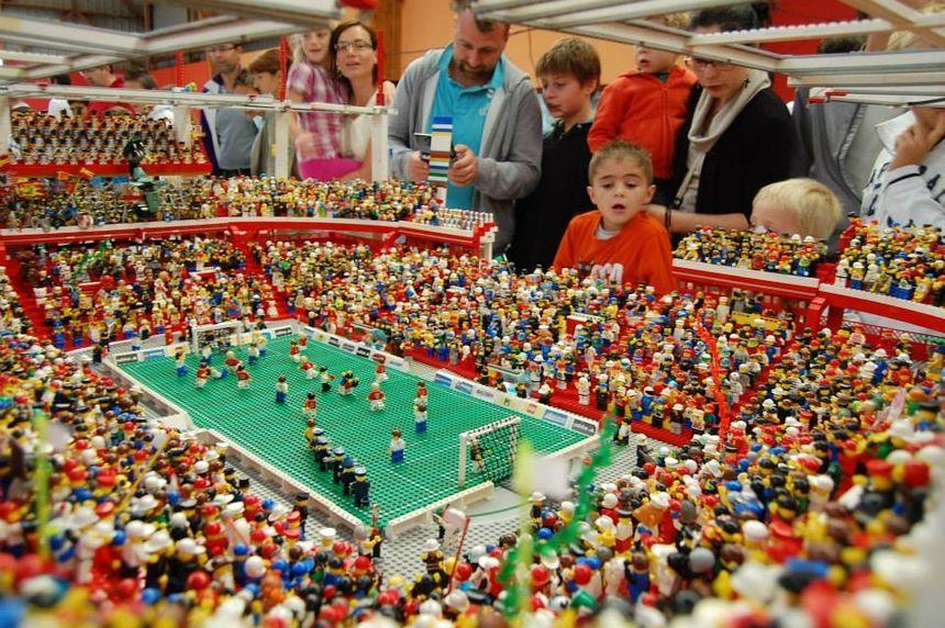 Stade de foot en Lego - Aucun(e)