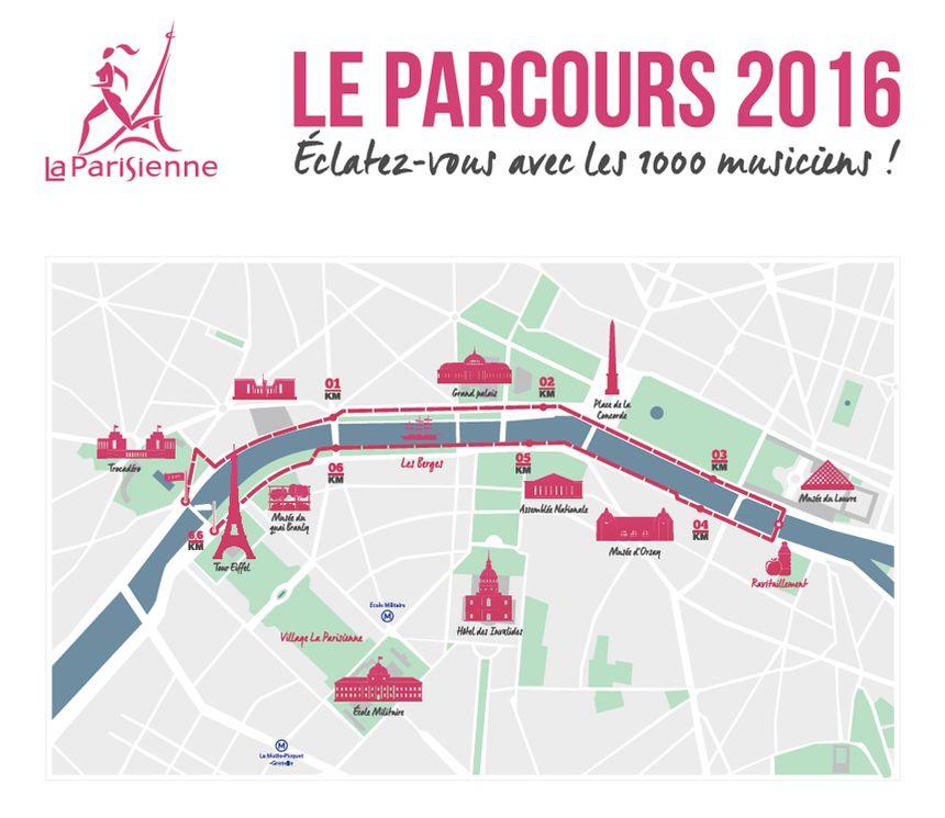 Le parcours de La Parisienne 2016 - Aucun(e)