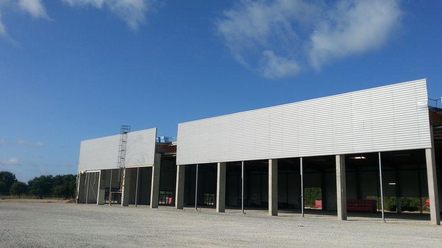Le site du futur Leroy Merlin à Saint-Berthevin