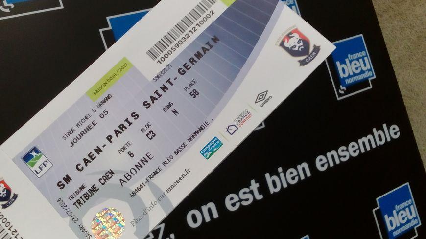 Deux places à gagner ce lundi dans Allo Malherbe pour SM Caen - PSG