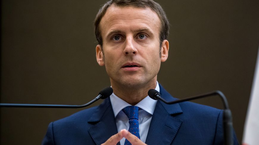 Emmanuel Macron est en meeting ce mardi soir à Strasbourg