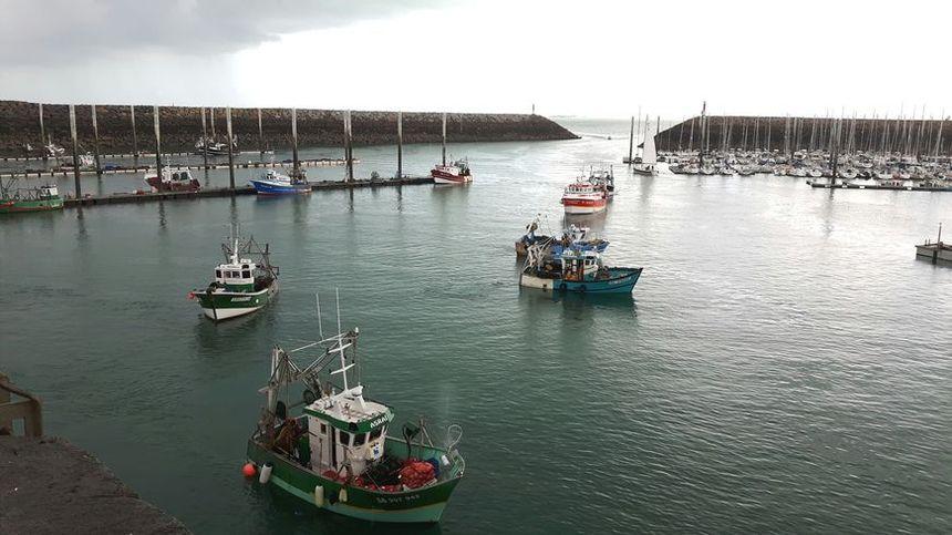 Le retour de pêche des coquilliers ce lundi à Saint-Quay-Portrieux  - Radio France
