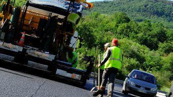De nombreux chantiers sur les routes de l'Ardéche, photo d'illustration