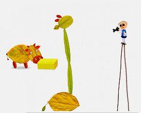 Les petits animaux de l'appli Labo Feuilles