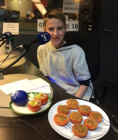 Quentin, 14 ans - Chef 107.1 du mois de septembre - Radio France