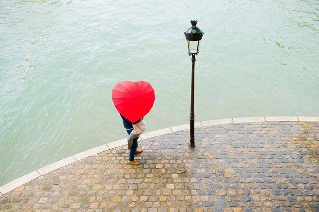 Des amoureux sur les quais