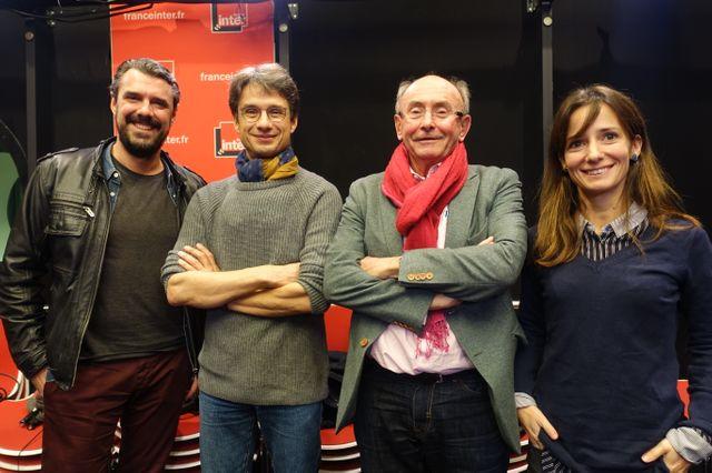 Cyril Lacarrière, Bruno Patino, Dominique Wolton et Alice Antheaume