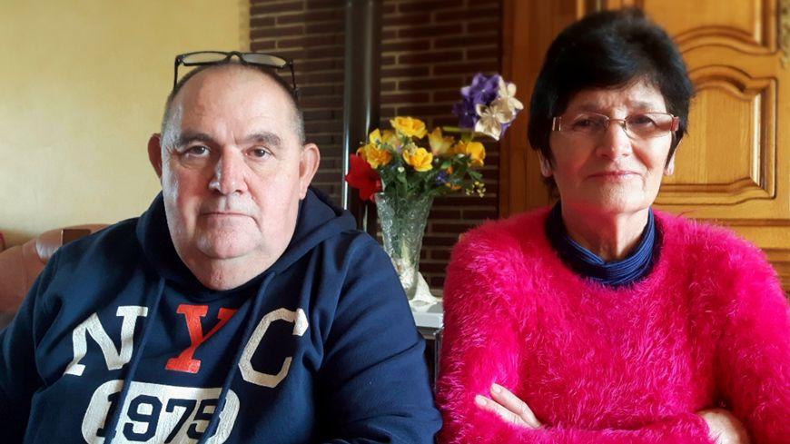 Jean-Michel et Marie-Hélène Hamonet chez eux à Plouasne dans les Côtes d'Armor. Le 14 juillet, ils étaient à Nice sur la Promenade des Anglais.