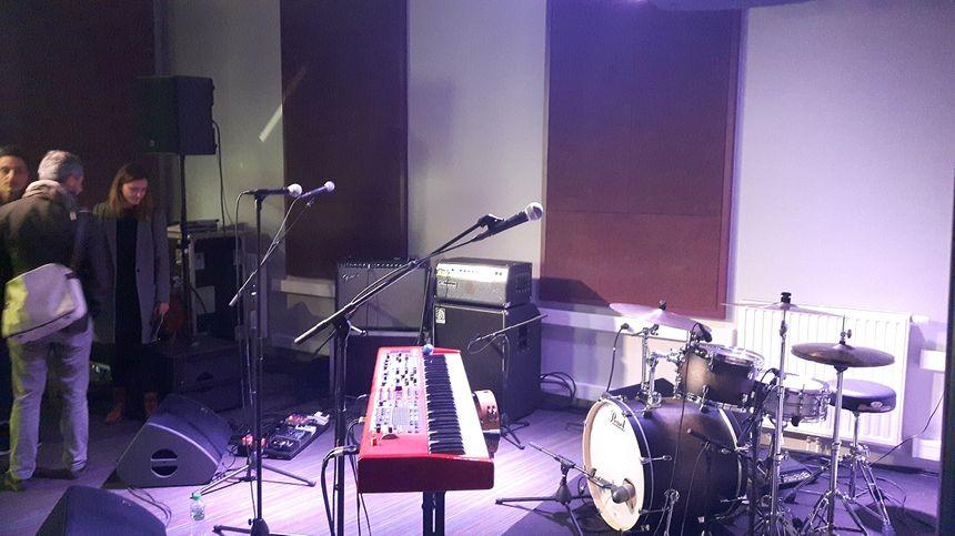 L'un des studios à l'intérieur du complexe - Radio France